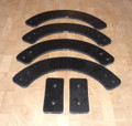 Paddle Set for Troy Bilt Squall 735-04032, 735-04033, 753-04472 Snowblower, Snowthrower, snow thrower blower