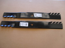 """Mulching Blades for AYP 46"""" Cut, 403107, 405380, 532405380, Toothed"""
