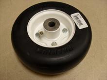 Tire Wheel for Carlisle 8x3.00-4, 341361 Lawn Mower Rim Solid Flat Free
