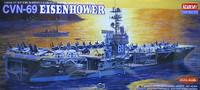 USS CVN-69 Eisenhower Carier 1/800 Academy