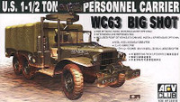 WC-63 Big Shot 1 1-2 6x6 Ton Truck 1/35 AFV Club