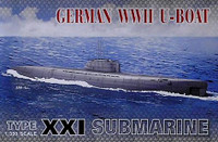 XXI U-Boat Submarine 1/350 AFV Club