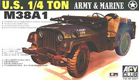 M-38 A1 Willys Jeep 1/35 AFV Club