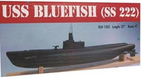 USS Bluefish Submarine 33 inches long Dumas