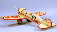 Gilmore Red Lion Racer Rubber Pwd Wooden Model Airplane Dumas