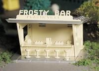 Frosty Bar Plasticville USA Building Kit O Scale