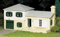 Split Level House Plasticville USA Building Kit O Scale
