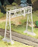 Signal Bridge (Silver) Plasticville USA Building Kit O Scale