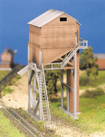 Coaling Tower Plasticville USA Building Kit O Scale Bachmann