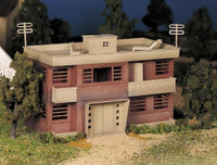 Apartment Building Plasticville USA Building Kit O Scale