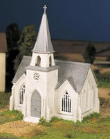 Cathedral Plasticville USA Building Kit O Scale