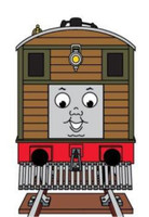Toby The Tram Engine with Moving Eyes by Bachmann