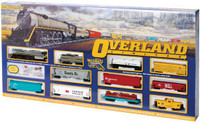 Overland Limited Train Set by Bachmann