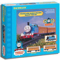 Thomas The Tank w/Annie & Clarabel Train Set by Bachmann
