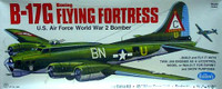 B-17G Flying Fortress Balsa Model Airplane Guillows