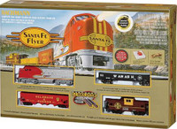 Santa Fe Flyer Electric Train Set by Bachmann