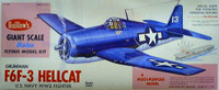 F6F-3 Hellcat Balsa Model Airplane Guillows