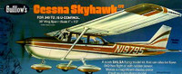 Cessna Skyhawk Balsa Model Airplane Guillows
