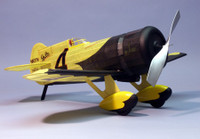 Gee Bee Z Racer Rubber Pwd Wooden Model Airplane Dumas