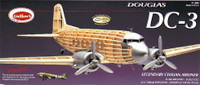 DC-3 Balsa Model Airplane Guillows