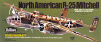 B-25 Mitchell Balsa Model Airplane Guillows