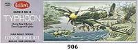 "Hawker Typhoon 1B Kit 18"" Wingspan Guillows"