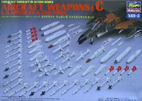 US Missiles and Gun Pods Weapon Set C 1/48 Hasegawa
