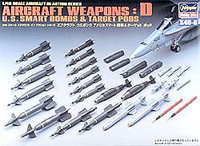 US Smart Bombs and Target Pods Weapons Set 1/48 Hasegawa