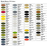 Model Master FS Military Enamel Paint 3oz Sprays 1900 Series