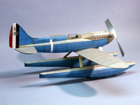 Super Marine S.6B Racer Rubber Pwd Wooden Model Airplane Dumas