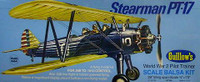 Stearman PT-17 Balsa Model Airplane Guillows