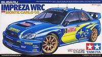 Subaru Impreza WRC Monte Carlo 2005 1/24 Tamiya