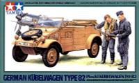 Kubelwagen Type 82 Military Vehicle 1/48 Tamiya