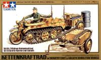 Kleines Kettenkraftrad w-Infantry Cart and Goliath Demo Vehicle 1/48 Tamiya