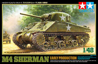 M-4 Sherman Tank Early Production 1/48 Tamiya