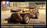 Schwimmwagen Type 166 Amphibous Military Vehicle 1/48 Tamiya