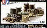 Jerry Can Set 1/48 Tamiya
