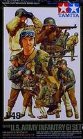 US Army Infantry GI Set 1/48 Tamiya