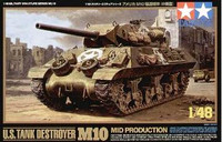 M-10 Mid Production Tank Destroyer 1/48 Tamiya