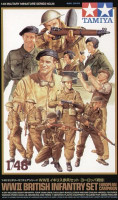 British Infantry Set 1/48 Tamiya