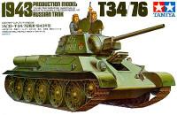 T-34/76 Russian Tank 1943 1/35 Tamiya