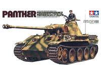 Panther Medium Tank 1/35 Tamiya