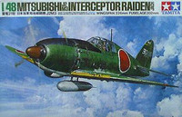Mitsubishi J2M-3 Interceptor Raiden Jack 1/48 Tamiya