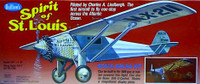 Spirit of St. Louis Balsa Model Airplane Guillows