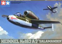 Heinkel He162A2 Salamander Jet Fighter 1/48 Tamiya