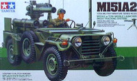 M-151 Jeep with Tow Missile Launcher 1/35 Tamiya