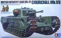 British Infantry Tank Churchill Mk. VII 1/35 Tamiya