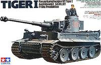 Tiger I Early Production German Tank 1/35 Tamiya