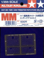 Tiger I Photo-Etched Grille 1/35 Tamiya