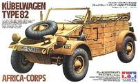Africa Corps Kubelwagen Type 82 1/35 Tamiya